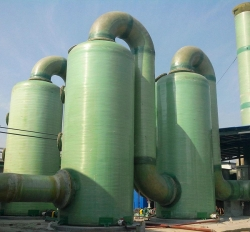北京玻璃钢脱硝烟囱